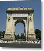 Arch Of Triumph Metal Print