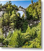 Arch Rock Mackinac Island Michigan Metal Print