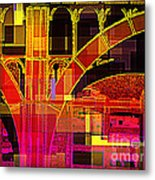 Arch Three - Architecture Of New York City Metal Print
