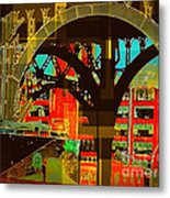 Arch Two - Architecture Of New York City Metal Print