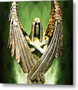 Archangel Azrael Metal Print by Bill Tiepelman