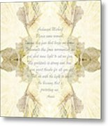Archangel Michael Remove Fear  Metal Print