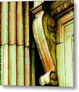 Archatectural Elements  Digital Paint Metal Print by Debbie Portwood