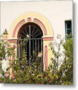 Arched And Gated Metal Print