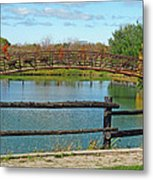 Arched Bridge Metal Print