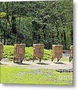 Archery Range Metal Print