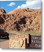 Arches National Park 2 Metal Print