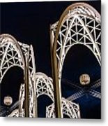Arches And Angles 1 Metal Print