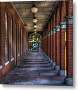 Arches And Columns Metal Print