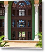 Arches And Doors At The Biltmore Metal Print