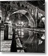 Arches At Night. Metal Print