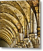 Arches At St Marks - Venice Metal Print