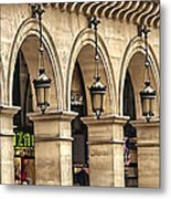 Arches In A Row  Metal Print