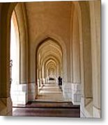 Arches In An Arab Palace  Metal Print