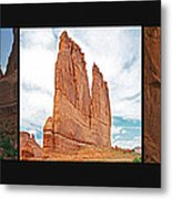 Arches National Park Panel Metal Print
