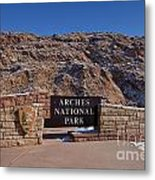 Arches National Park Utah Metal Print