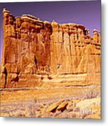 Arches Wall Metal Print