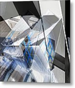 Architectural Abstract Metal Print