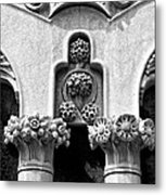 Architectural Detail - Barcelona - Spain Metal Print