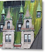 Architectural Details Of Chateau Metal Print