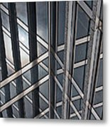 Architectural Lines Metal Print
