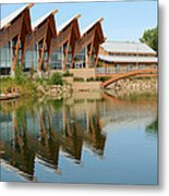 Architectural Reflections Metal Print