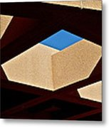 Architectural Roof Shapes  Metal Print