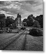 Architectural Treasure Bw Metal Print