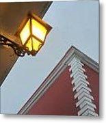 Architecture And Lantern 3 Metal Print