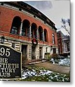 Architecture And Places In The Q.c. Series 01 The Twentieth Century Club Metal Print