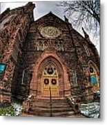 Architecture And Places In The Q.c. Series 01 Trinity Episcopal Church Metal Print