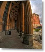 Architecture And Places In The Q.c. Series 03 City Hall Metal Print