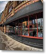 Architecture And Places In The Q.c. Series Bacchus Restaurant Metal Print