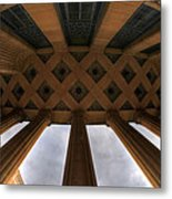 Architecture And Places In The Q.c. Series City Hall Metal Print