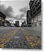 Architecture And Places In The Q.c. Series Delaware And Chippewa Metal Print