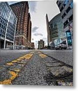 Architecture And Places In The Q.c. Series Delaware To Heart Of Queen City Metal Print
