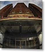 Architecture And Places In The Q.c. Series The Statler Towers Metal Print