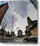 Architecture And Places In The Q.c. Series War Of Architecture  Metal Print
