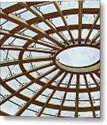 Architecture In Color Metal Print