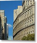 Architecture In New York City Metal Print