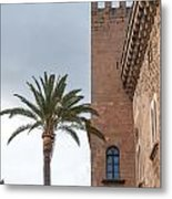Architecture In Old Palma. Metal Print