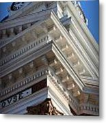 Architecture In The Morgan County Court House Metal Print