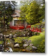 Architecture - Japan - Tranquil Moments  Metal Print