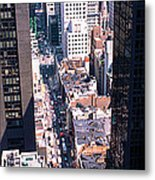 Architecture New York Ny Usa Metal Print