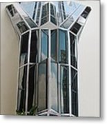 Architecture Resconstruction Metal Print by Alfred Ng