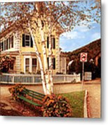 Architecture - Woodstock Vt - Where I Live Metal Print