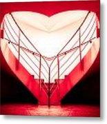 architecture's valentine - redI Metal Print