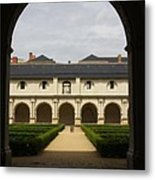 Archview To The Courtyard - France Metal Print