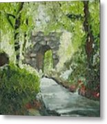 Archway In Central Park Metal Print