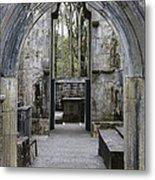 Archway Muckross Abbey Metal Print